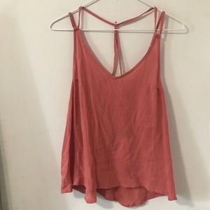 Roxy coral tank top NWT